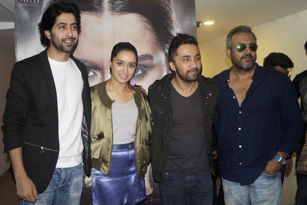 """श्रद्धा कपूर एवं सिद्धांत कपूर ने किया'हसीना पारकर'का प्रमोशन : Duo sibling Shraddha and Siddhanth Kapoor promoted """"Haseena Parkar"""" in Delhi!"""