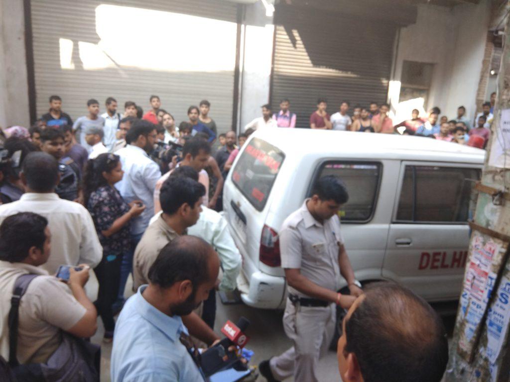 Double Murder Wajirabad Delhi Gali No 6