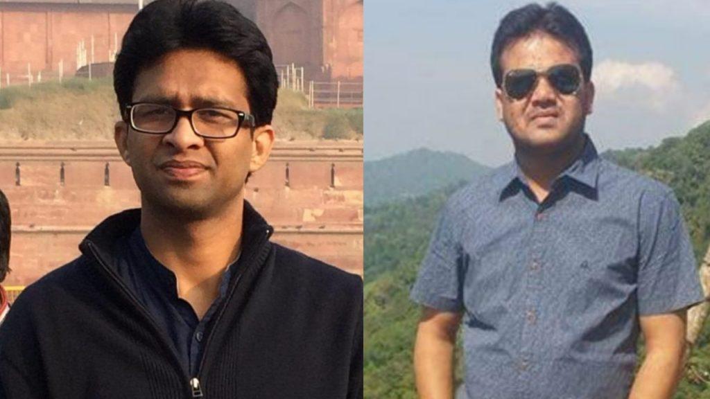 Black Shirt Dr Ufran and Other Dr Rajesh Rajpoot