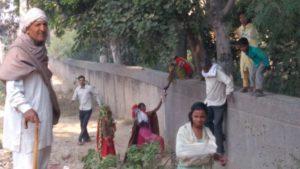Narela Lampur Railway underpass