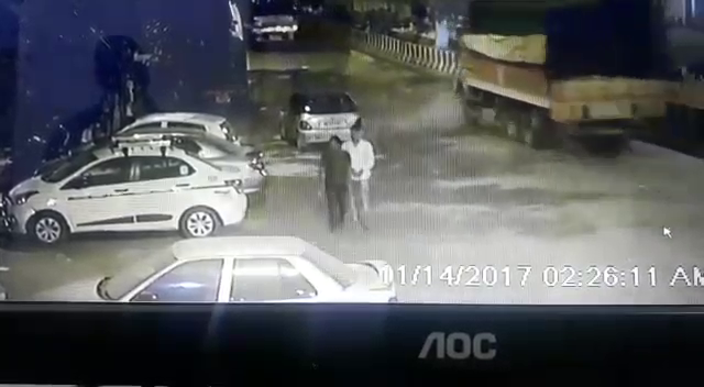 Srai Pepal Thala CCTV Car Theft Live