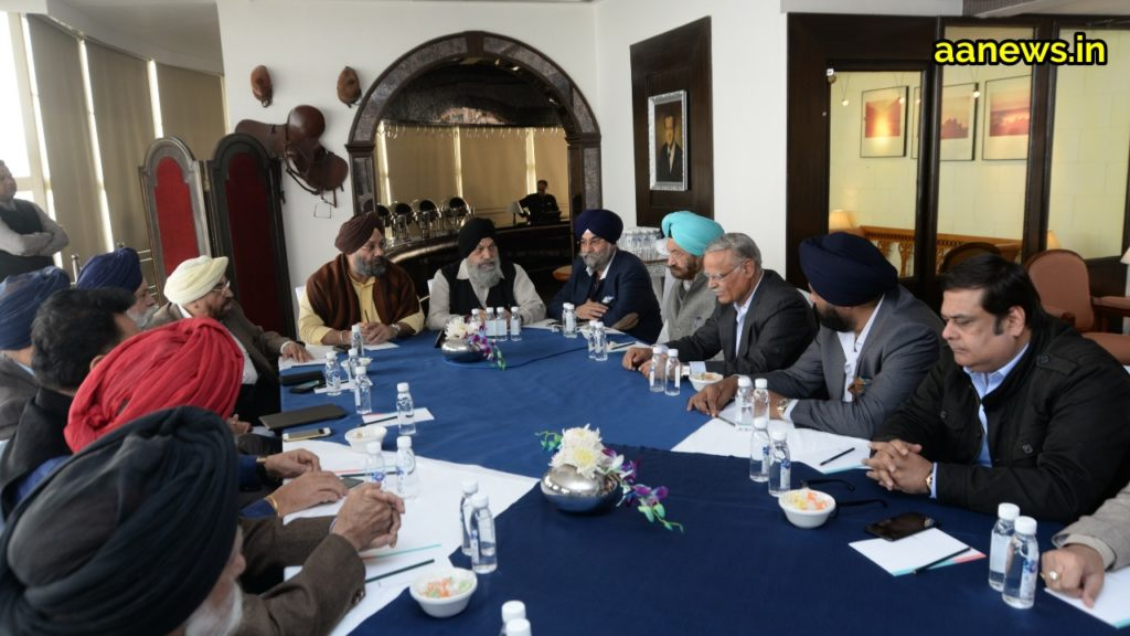 Raju Chadha along with Eminent Sikh Community discusses Sikh Reforms in the meeting of 'International Punjab Forum'!