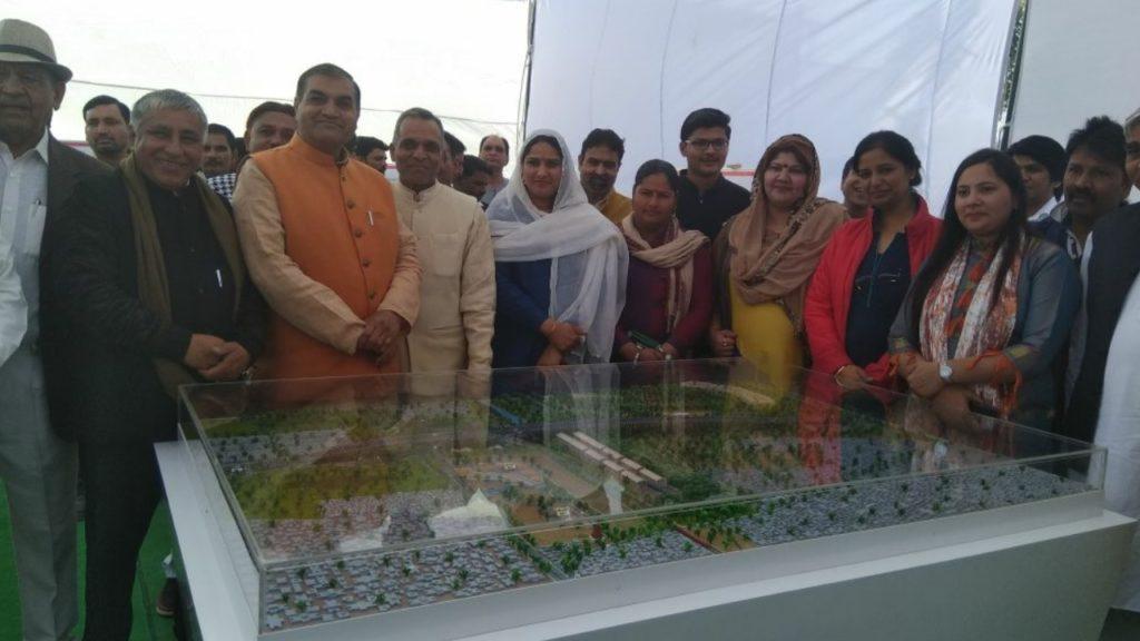 Narela Flyover and ROB inauguration