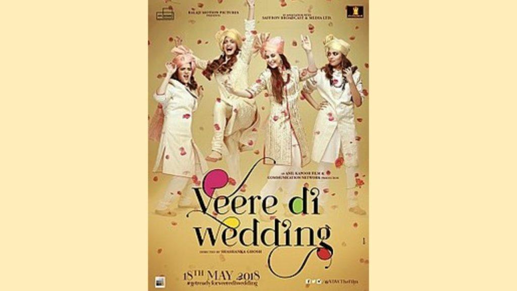 Veere Di Wedding to release June 1st 2018 !