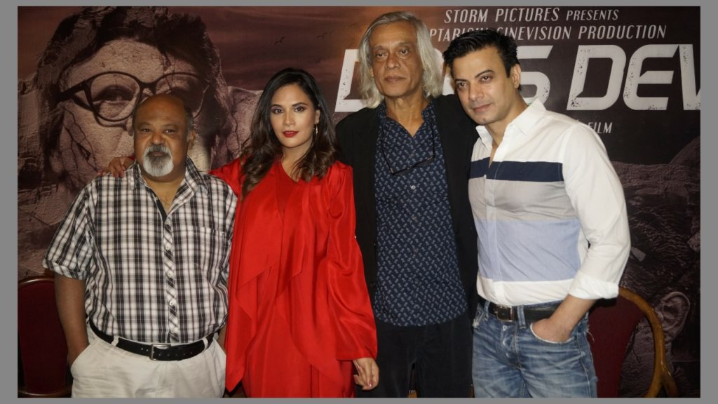 Richa Chadda, Saurabh Shukla along with the team of 'Daas Dev' witnessed in New Delhi