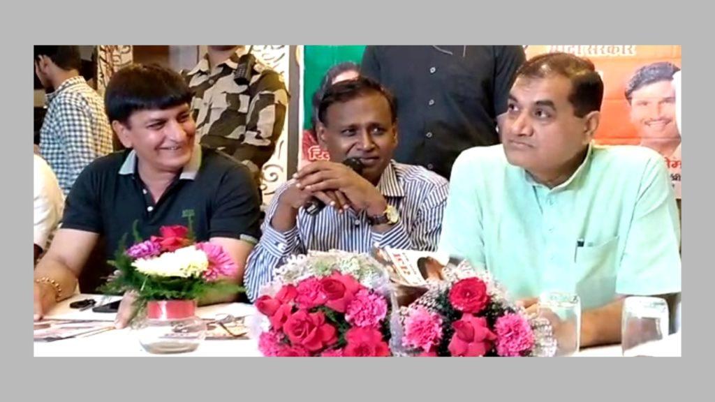 BJP PC at Rohini Sec 9 Punjabi Rasoi on Modi Govt. 4ys.