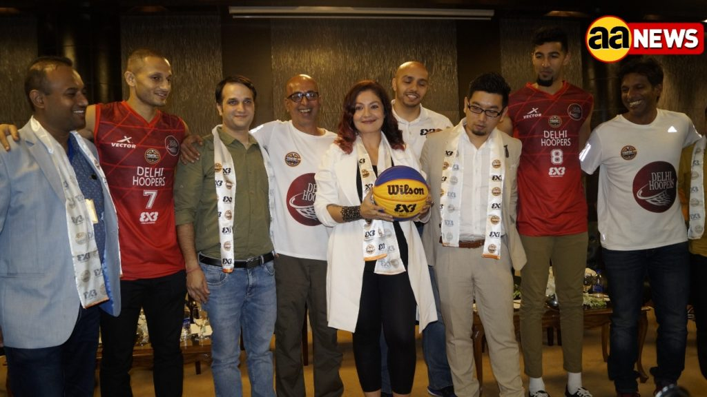 Puja Bhatt announced acquisition of TEAM DELHI HOOPERS – Delhi Franchise by Box Singh Sports and Entertainment