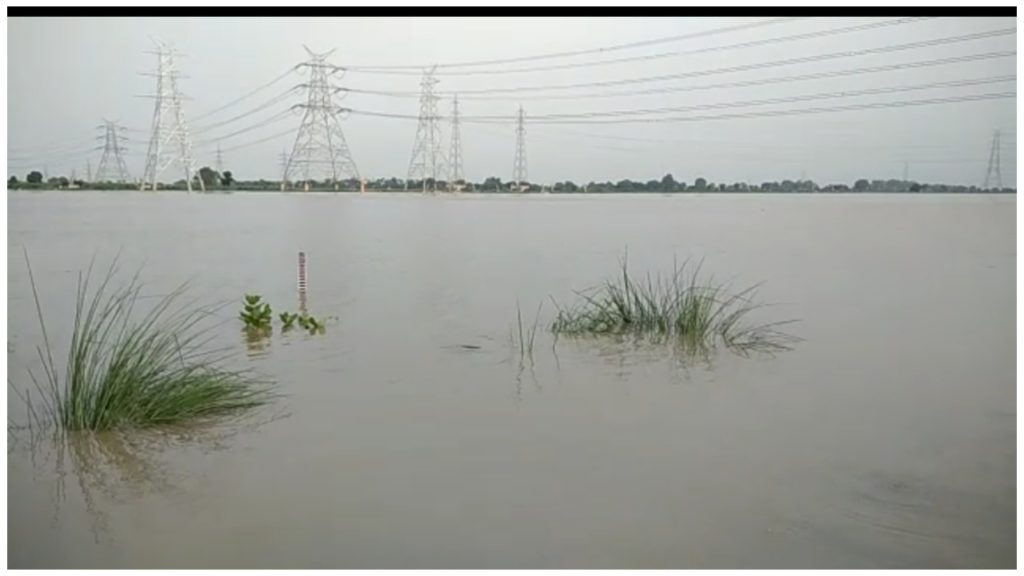 Delhi Yamuna at Plla Jhangola