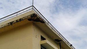 Mukhraji Nagar Sewa Kutir Andh Mahavidhyaly's Dangerous building