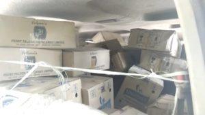 illegal liquor van Accident Narela