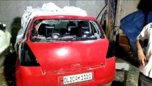 नेहरू विहार छात्रों और स्थानीय लोगो मे झगड़ा पुलिस बल तैनात