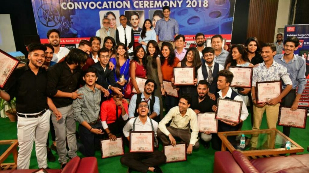 Gulshan Kumar Film & Television Institute of India had its 'First Convocation Ceremony' at their , located at Film City, Noida!