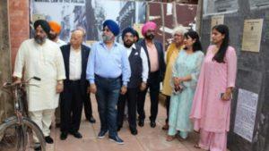 डॉ. राजू चड्ढा ने जालियांवाला बाग नरसंहार कांड पर किया प्रदर्शनी का उद्घाटन