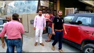 Shalimar Bagh Car loot spot