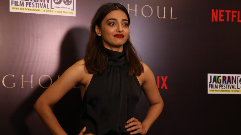 Radhika Apte and Manav Kaul Promote Ghoul - Netflix's First Horror Series from India, at a special Screening by Jagran Film Festival