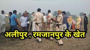 अलीपुर में मोहम्मदपुर के बुजुर्ग का शव पेड़ पर फांसी के फंदे से लटका हुआ मिला