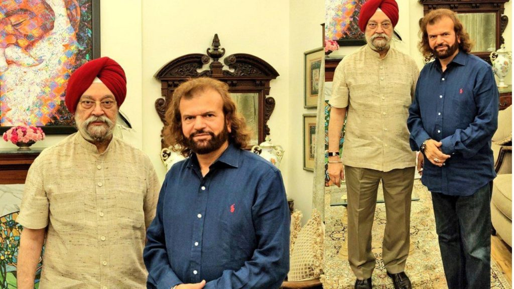 Hardeep Puri & Hansraj Hans
