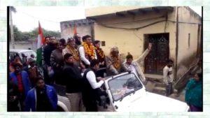 Congress candidate Narela  sidhdharth kundu