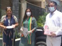 Jan sampark abhiyan rohini / Preeti Aggrwal