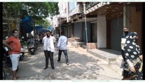 Jahangir puri B, C block market