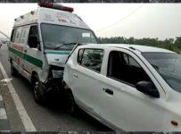 COVID-19 Ambulance accident