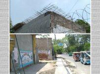 Rohini encroachment ward 57