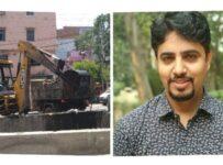 Ajay Sharma Aap ward 11N