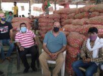 Azadpur mandi Aalu traders