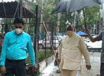 North MCD mayor round at jahangir puri