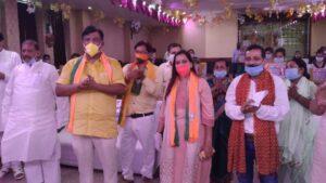 Bjp Rohini preety agarwal ex mayor North Delhi