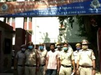 Murderer arrested by police station sarai Rohilla